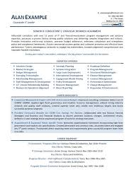 C Level Executive Resume Samples by Consulting Resume Examples Financial Consultant Resume Example