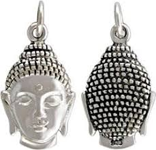 Decorative Buddha Head Buy Double Sided Decorative Buddha Head Pendant In Sterling Silver