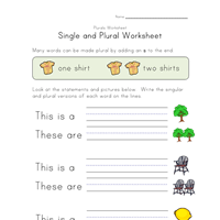 8 great free plural worksheets all kids network