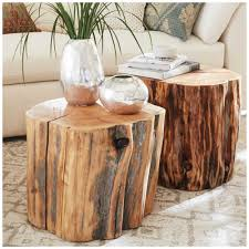 Log Side Table Nightstands Cheap Nightstands Wood Log Side Table Tree Stump