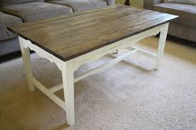 Best Paint For Outdoor Wood Furniture Diy Farmhouse Coffee Table A Diamond In The Stuff Bloglovin U0027