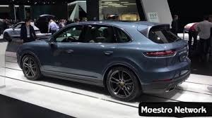 porsche suv interior 2017 new 2018 porsche cayenne interior and exterior revealed at