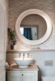 Seaside Bathroom Ideas Beach House Bathroom Mirrors Vanity Decoration