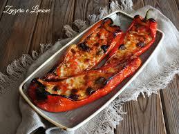 giallo zafferano cucina vegetariana peperoni ripieni vegetariani ricetta semplice zenzero e limone