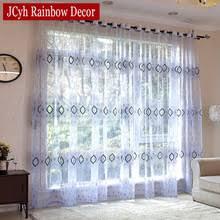 Blue Kitchen Curtains by Popular Blue Kitchen Curtains Buy Cheap Blue Kitchen Curtains Lots