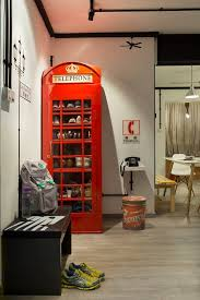 Red Phone Booth Cabinet British Telephone Booth Display Cabinet Bar Cabinet