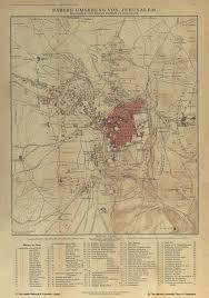 Map Of Jerusalem Jerusalem Archives Interactive Map Open Jerusalem