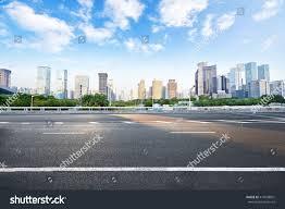 asphalt road modern city stock photo 413698801 shutterstock