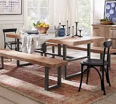 wooden dining room tables dining room tables pottery barn