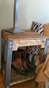 Build Wood End Tables by Hand Made Wooden Pallet End Table The Table Pictured Has An Early