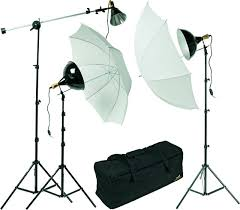home photography lighting kit photo for a fully equipped home studio this three light set up