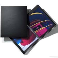 leather photo album personalized the classic spiral professional leather album 9 x12 by prat