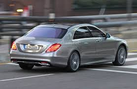 newest mercedes model spyshots 2014 mercedes s class totally undisguised autoevolution