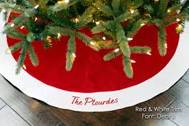 personalized tree skirt 54 traditional or
