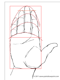 paint draw paint learn to draw drawing basics drawing the hand