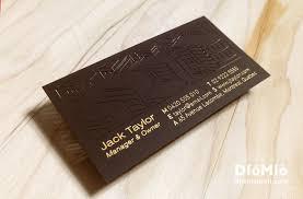 Business Cards Interior Design Unique Interior Designer Business Card Diomioprint