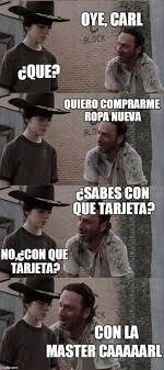 Meme Carl - 13 mejores meme de carl de the walking dead top trending blog