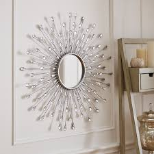 home decorating mirrors natalie sunburst round mirror pier 1 imports