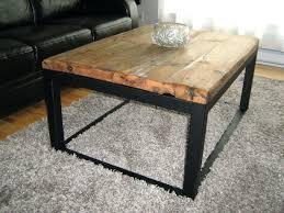 wood metal end table coffee tables brilliant coffee tables brown rectangle modern