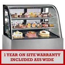 Muffin Display Cabinet Cake Display Cabinet Displays Bain Maries Ebay