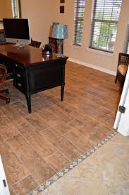 How To Repair A Laminate Floor Replace Carpet With Tile That Looks Like Wood Planks We Used A