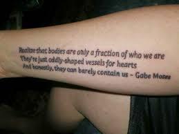 tattoos männer sprüche schriften originelle sprüche unterarm ideen
