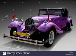 bugatti royale purple bugatti type 41 royale vintage car 1927 1933 stock photo