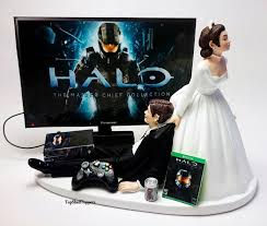 xbox cake topper wedding cake topper custom master chief xbox one