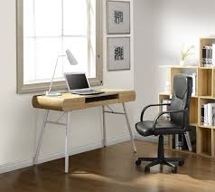 Computer Glass Desks For Home Modern Executive Desk Glass Top Office Desk Minimalist Computer