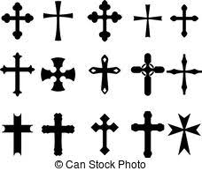 cross clipart and stock illustrations 191 402 cross vector eps