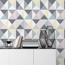 frise leroy merlin papier peint papier polygone multicolor leroy merlin