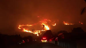 Six Flags Magic Mountain Fire Wildfires Continue To Rage Across Southern California Fox2now Com