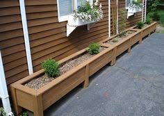 balcony planter box how to make wooden planter boxes waterproof