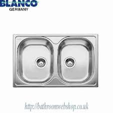 Steel Kitchen Sinks BLANCO Tipo  Compact Stainless Steel Kitchen - Kitchen sink waste fittings