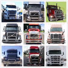 truck bumpers including freightliner volvo peterbilt kenworth volvo vnl big truck front bumper guard parts truck parts oem parts