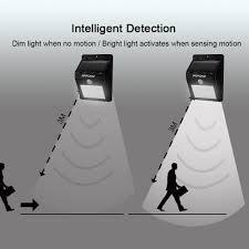 mpow solar light instructions amazon com mpow solar powerd wireless led security motion sensor