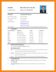 teacher biodata format business plan free template word western