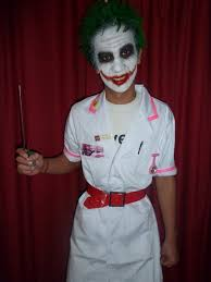 dress up costume for the joker nicole smith makeup