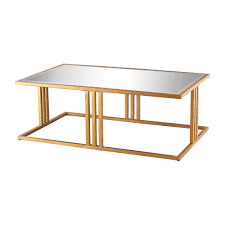 Coffee Table Mirror by Gold Metal U0026 Mirror Half Circle Console Table