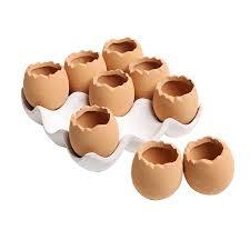 amazon com adorable set of 9 brown eggs design ceramic succulent