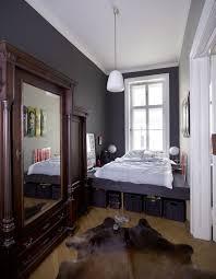 Bedroom Captivating Smart Small Bedroom Decoration With Big Wall - Smart bedroom designs