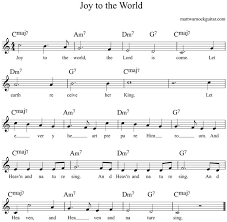easy christmas songs guitar chords tabs and lyrics matt