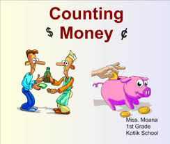 smart exchange usa counting money with first grade