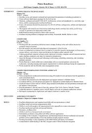 computer resume samples velvet jobs