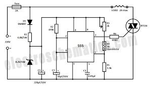 555 temperature controller circuit 555 pinterest circuit