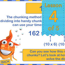 multiplication and division facts chunking planbee