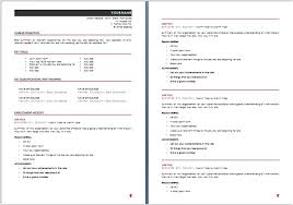 Best Student Resume Format by Download Australian Resume Template Word Haadyaooverbayresort Com