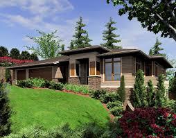 modern prairie style home plan 6966am architectural designs