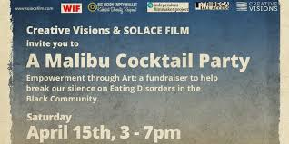 Cocktail Party Fundraiser - malibu cocktail party fundraiser for solace film tickets sat apr