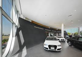 audi dealership exterior audi midtown toronto dealership teeple architects